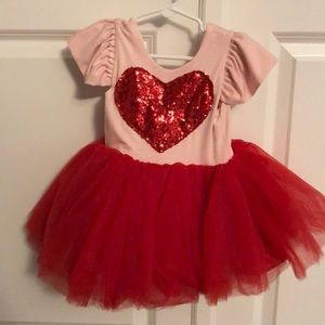 Belle Threads Heart tutu dress